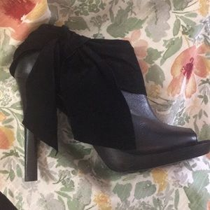 7 for All Mankind Leather Ankle Boot